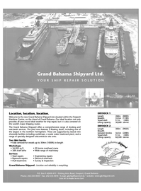 Maritime Reporter Magazine, page 13,  Jun 2003 wet-berth services