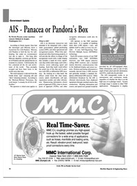 Maritime Reporter Magazine, page 18,  Jun 2003