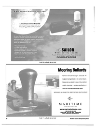 Maritime Reporter Magazine, page 50,  Jun 2003 maritime communications systems