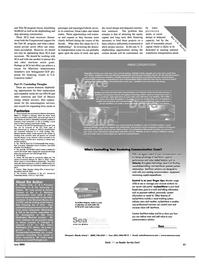 Maritime Reporter Magazine, page 61,  Jun 2003