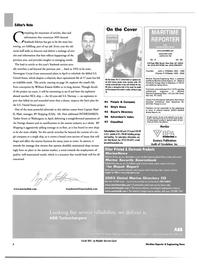 Maritime Reporter Magazine, page 6,  Jun 2003