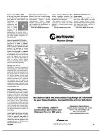 Maritime Reporter Magazine, page 81,  Jun 2003