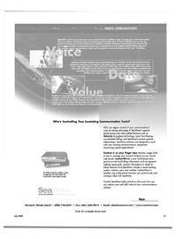 Maritime Reporter Magazine, page 19,  Jul 2003 GSM
