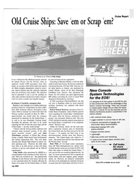 Maritime Reporter Magazine, page 31,  Jul 2003 Peter Knego