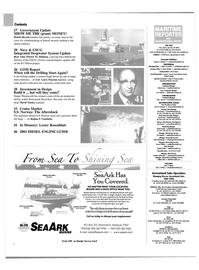 Maritime Reporter Magazine, page 2,  Jul 2003