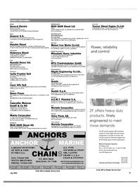 Maritime Reporter Magazine, page 49,  Jul 2003 Iowa
