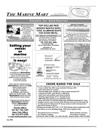 Maritime Reporter Magazine, page 57,  Jul 2003 Tim Mullane