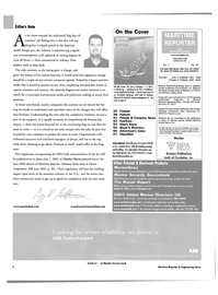 Maritime Reporter Magazine, page 6,  Jul 2003 Connecticut