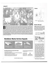 Maritime Reporter Magazine, page 8,  Aug 2003 New York