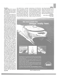Maritime Reporter Magazine, page 9,  Aug 2003