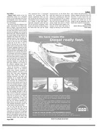 Maritime Reporter Magazine, page 9,  Aug 2003 John D. McCown