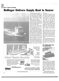 Maritime Reporter Magazine, page 12,  Aug 2003