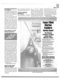 Maritime Reporter Magazine, page 13,  Aug 2003 California