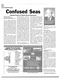 Maritime Reporter Magazine, page 14,  Aug 2003 Federal Emergency Management Agency