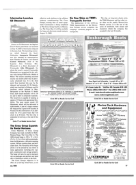 Maritime Reporter Magazine, page 17,  Aug 2003 TMM