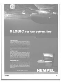 Maritime Reporter Magazine, page 21,  Aug 2003 less paint consumption