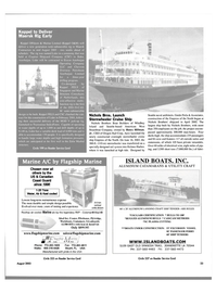 Maritime Reporter Magazine, page 23,  Aug 2003 Canadian Coast Guard