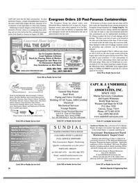 Maritime Reporter Magazine, page 24,  Aug 2003 Job Line