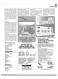 Maritime Reporter Magazine, page 27,  Aug 2003 hard-wired embedded technology