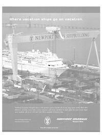 Maritime Reporter Magazine, page 1,  Aug 2003 Northrop Grumman Corporation