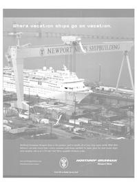 Maritime Reporter Magazine, page 1,  Aug 2003 Northrop Grumman Corporation