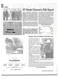 Maritime Reporter Magazine, page 30,  Aug 2003