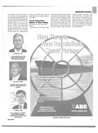 Maritime Reporter Magazine, page 35,  Aug 2003 France
