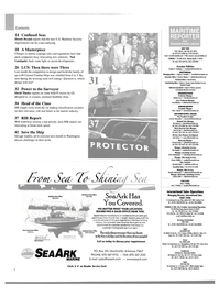 Maritime Reporter Magazine, page 2,  Aug 2003 California