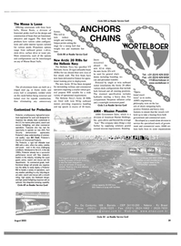 Maritime Reporter Magazine, page 39,  Aug 2003