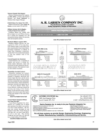 Maritime Reporter Magazine, page 41,  Aug 2003 James W. Swent