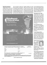 Maritime Reporter Magazine, page 50,  Aug 2003 Ronald M. Ackerman