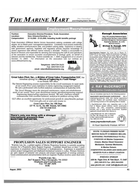 Maritime Reporter Magazine, page 61,  Aug 2003