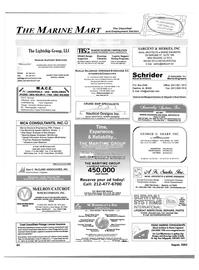 Maritime Reporter Magazine, page 64,  Aug 2003 Relational Database