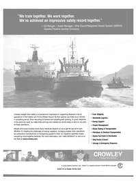 Maritime Reporter Magazine, page 5,  Aug 2003 Ocean Towing