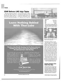 Maritime Reporter Magazine, page 10,  Sep 2003 stern tube oil leakage