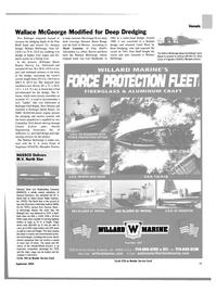 Maritime Reporter Magazine, page 11,  Sep 2003 Washington