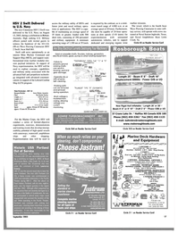 Maritime Reporter Magazine, page 17,  Sep 2003 Historic USS Portland Out of Service