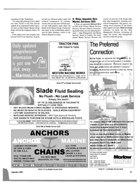 Maritime Reporter Magazine, page 21,  Sep 2003 Fred Cheng