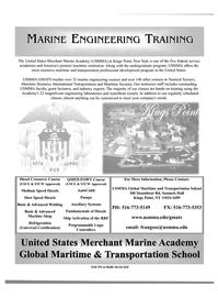 Maritime Reporter Magazine, page 1,  Sep 2003 transportation professional development program