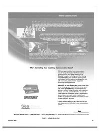 Maritime Reporter Magazine, page 41,  Sep 2003 GSM