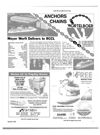 Maritime Reporter Magazine, page 57,  Sep 2003
