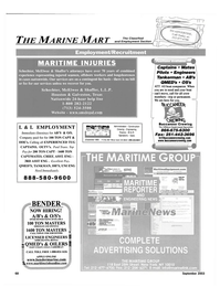 Maritime Reporter Magazine, page 66,  Sep 2003 Washington