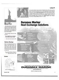 Maritime Reporter Magazine, page 5,  Sep 2003 Graham Spickard