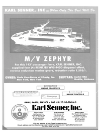 Maritime Reporter Magazine, page 4th Cover,  Sep 2003