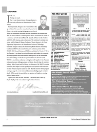 Maritime Reporter Magazine, page 6,  Sep 2003 Massachusetts