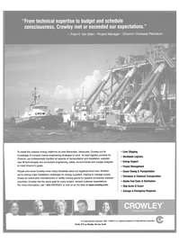 Maritime Reporter Magazine, page 7,  Sep 2003 Lake Maracaibo