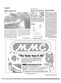 Maritime Reporter Magazine, page 8,  Oct 2003