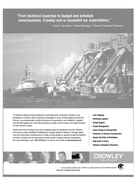 Maritime Reporter Magazine, page 23,  Oct 2003