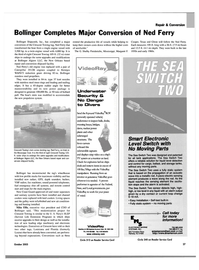 Maritime Reporter Magazine, page 29,  Oct 2003