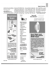 Maritime Reporter Magazine, page 31,  Oct 2003 Massachusetts